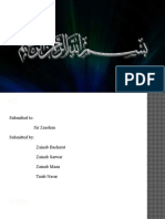Zainab Presentation