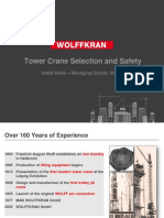 Tower Crane Selection and Safety.