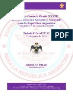 Boletín Semanal Nº 62 - JUNIO 2019.pdf