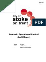 Imprest Report