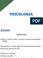 Aula I Psicologia