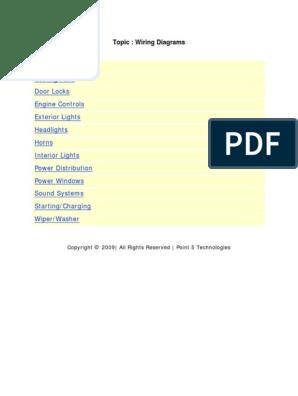 30777240-Pontiac-GrandAM-Chilton-Wiring-Diagrams.pdf | Headlamp | Air  ConditioningScribd