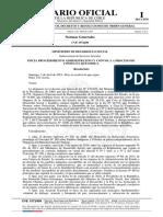 Publicacion Diario Oficial