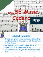 5. Cadences