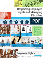 Chapter 14 - Respecting Employee Rights and Managing Discipline