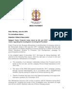 Media Statement Public Protector