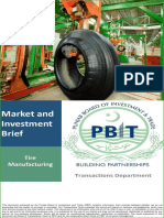 Tyre Manufacturing Unit- Pitch Book (G)