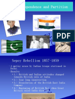 Indian Independence and Partition PPT