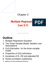 Ch 2 Multiple Regression S
