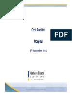 Hospital Cost Audit Observation