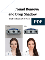 Background Remove and Drop Shadow