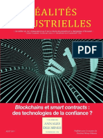 Blockchains Et Smart Contracts Des Technologies de La Confiance