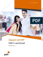 Impact of Gst Fmcg and Retail Sector