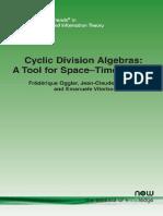 Cyclic Division Algebras - A Tool for Space-Time Coding   (  Frederique Oggier  ;   Jean-Claude Belfiore  ).pdf