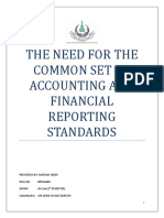THE NEED FOR THE COMMON SET OF ACCOUNTING AND FINANCIAL REPORTING STANDARDS.docx