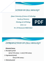 1. Introduction to Cell Biology