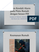 Sistem Kendali Alarm Pada Pintu Rumah Dengan Sensor New