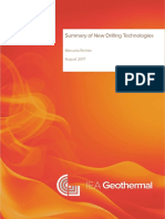 IEA Geothermal Drilling Technologies
