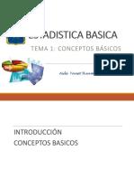 Estadistica Basica/Conceptos Basicos