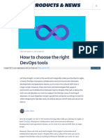 Www Atlassian Com Blog Devops How to Choose Devops Tools