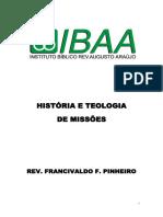 História e Teologia de Missoes
