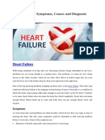 Heart Failure - Symptoms, Causes and Diagnosis