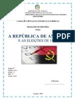 Angola, As eleições de 1992
