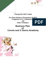 Business Plan of Connie & U Dance