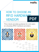 How to Choose an RFID Hardware Vendor