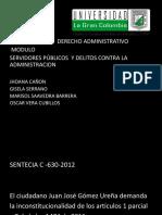 sentencia C-630 -2012.ppt