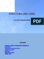 5 Structura Unei Carti