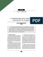 Los estereotipos como factores de socialización en el género de Blanca Gonzales Gabaldón Sevilla