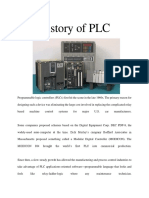 History of PLC