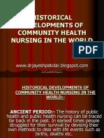 historicaldevelopmentsofcommunityhealthnursingintheworld-130501002333-phpapp01.pdf