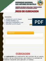 Criterios de Cubcacion