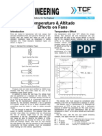 FE 1600 Temperature Altitude Effects on Fans