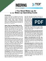 FE 1500 Signs You Need Make Up Air Air Make Up Operating Costs