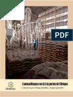 L'autosuffisance en riz à la portée de l'Afrique