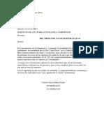 Carta Instituto Anatomia Patologica