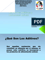 USO DE ADITIVOS Y HORMONAS PARA NUTRICION ANIMAL