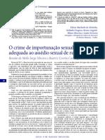 CAMARGO_SILVEIRA_Importunação Sexual (2018)