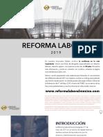 Resumen Reforma Laboral 2019 BÁSICO Legal