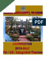 PG UG Prospectus 2019 20