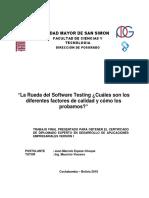 La Rueda Del Software Testing ¿Cuáles Son Los Diferentes Factores de Calidad y Cómo Los Probamos