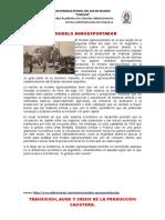 el modelo agroeconomico