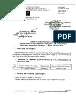 Caiet de Sarcini Licitație Vânzare Câine de Serviciu PAZA