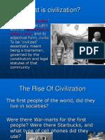 What is Civilization
