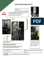 Instrucciones de Rescate Ascensor Schindler Excel, Maquina Ce250, Ce357