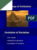 Beginnings of Civilization