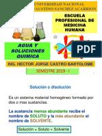 Agua y Soluciones Quimicas